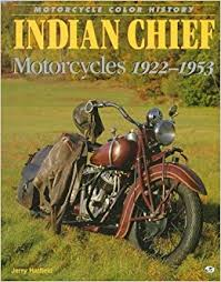 indian chief motorcycles 1922 1953 motorcycle color history