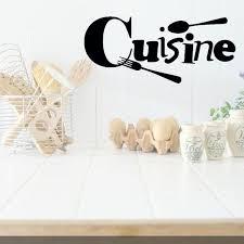 vinyl mural cuisine cuisine vinyl wall stickers fork spoon black sticker