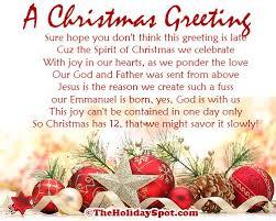 christmas poetries by glenna
