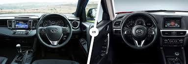 mitsubishi suv 2016 interior toyota rav4 vs mazda cx 5 compared carwow