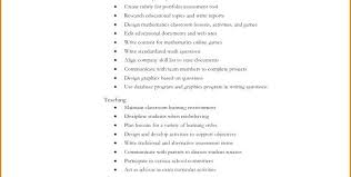 teacher resume items teaching resume objectives teachers resume objective with
