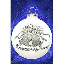 25th silver wedding anniversary personalized