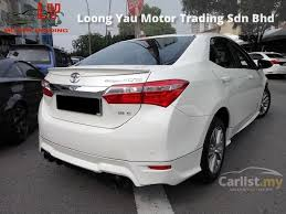 toyota corolla 2014 altis toyota corolla altis 2014 e 1 8 in selangor automatic sedan white