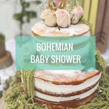 bohemian baby shower bohemian baby shower crowned creations
