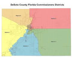 County Map Florida Board Of County Commissioners Bocc Desoto County Florida Meet