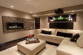 Basement Family Room Contemporary Basement Ottawa By Just - Family room in basement
