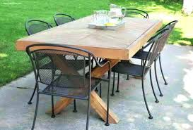 square outdoor dining table outdoor dining table for 8 lesdonheures com