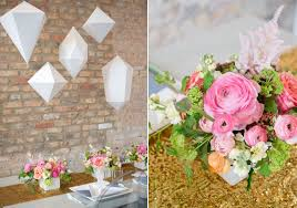 geometric wedding inspiration wedding inspiration 100 layer cake