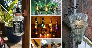 20 awesome ideas how to make wine bottle lights homedesigninspired