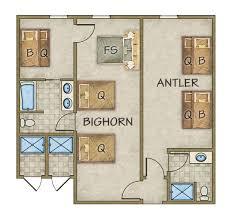 Bighorn Floor Plans Gallery Garden Valley Id River Canyon Retreat