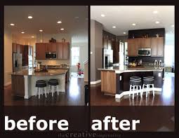 Kitchen Remodel Before And After by Small Kitchen Diy Ideas Before U0026 After Remodel Pictures Of Tiny