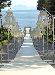 aisle markers outdoor ceremony aisle markers prestonbailey