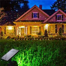 solar christmas light projector hi lumix laser light solar powered stage l red green led