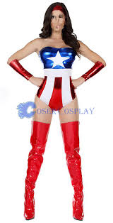 captain america halloween costumes for women new