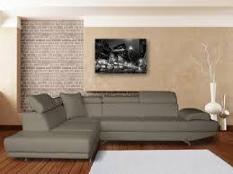 canapé d angle imitation cuir canapé cuir authenticité et design dans votre salon