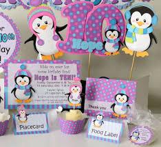 Penguin Baby Shower Decorations 175 Best Penguin Baby Shower Images On Pinterest Penguin Baby