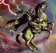the horsemen of revelation the pale horse of pestilence united