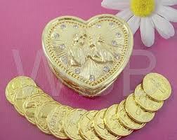 arras de oro non catholic wedding arras silver plated arras de boda