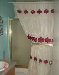 Shower Curtain Door Shower Curtains Make A Statement House Photos