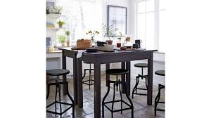 crate and barrel bar table alluring bar stool tables of counter height pub table and set