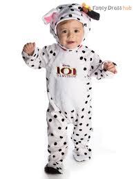 Dalmation Halloween Costume Disney Baby 101 Dalmatians Romper Hood Dalmations Toddler Fancy