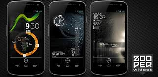 beautiful widgets pro apk zooper widget pro 2 60 apk 18 most popular skins and widgets