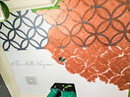 Orange Powder Room Powder Room Reveal The Hall Way
