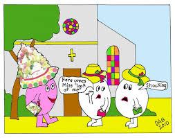 easter egg cartoon i know i made you smile
