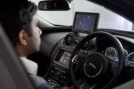 jaguar car land rover tech has car monitoring driver u0027s concentration