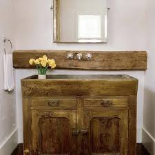 Salvage Bathroom Vanity by Salvaged Wood Bathroom Vanity Design Ideas