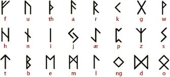 ancient scripts futhark
