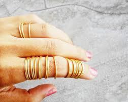 fingers rings gold images 24 stacking rings gold full finger ring coil dainty jpg
