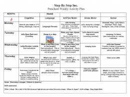 sample weekly lesson plan teacher weekly lesson plan free word