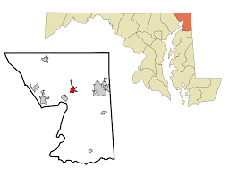Zip Code Map Maryland by North East Maryland Wikipedia