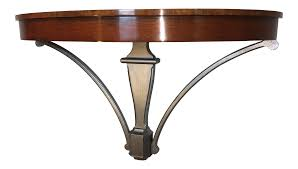 Wall Console Table Custom Built Wall Mounted Wall Console Table Chairish