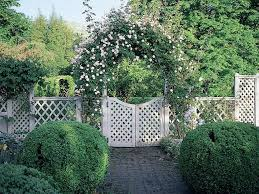 how to decorate your landscape with rose trellis u2013 outdoor decorations
