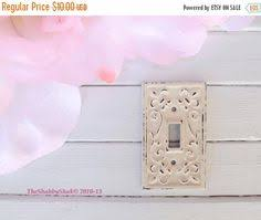 Shabby Chic Light Switch Covers by Metal Light Switch Cover Wall Plate Featuring Beautiful Embossed