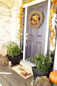 Pottery Barn Fall Decor - pottery barn inspired fall porch laurie jones home