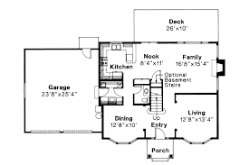 28 colonial floor plan colonial house plans hanson 30 394