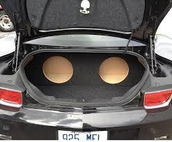 camaro speaker box for a 2010 2011 chevy camaro custom sub box subwoofer