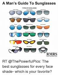 Meme Sunglasses - a man s guide to sunglasses types of sunglasses aviator classic