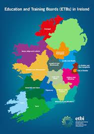 Dublin Ireland Map Find An Etb Etbi