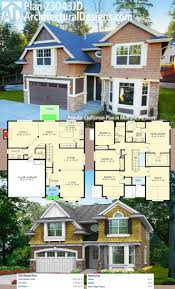 25 best four bedroom house plans ideas on pinterest one floor architectural designs craftsman house plan 23043jd has a stone siding and shingle exterior the