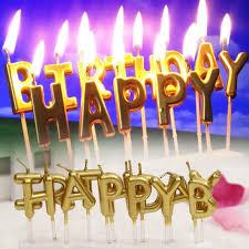 happy birthday candles aliexpress buy 1 set new arrival birthday cake decoration
