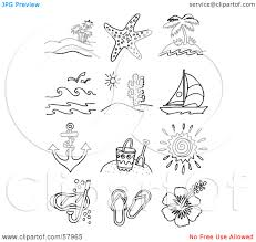 10 images of beach items coloring pages teen beach coloring