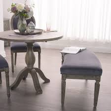 Dining Benches Plum Velvet Paige Curved Bench World Market