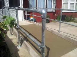 Disabled Handrails Disabled Access Improvements Concrete Ramp U0026 Handrails Ilford 2
