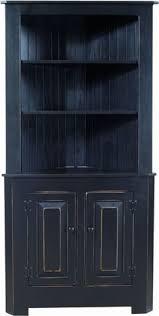 solid pine kitchen corner hutch from dutchcrafters amish furniture