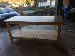 how to build a sturdy workbench inexpensively 5 steps with pictures
