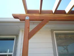 Pergola Post Design by Deck How Do I Keep My Corner Pergola From Wobbling Home